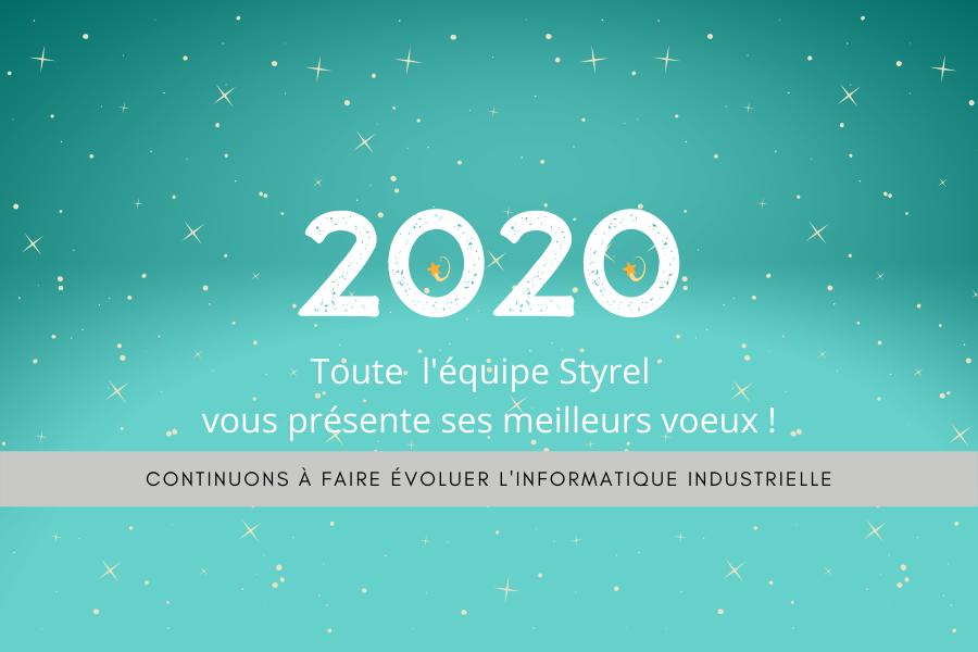 carte de vœux 2020 Styrel