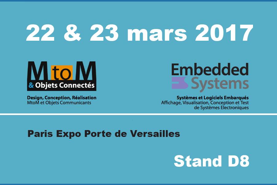 Embedded Systems & MtoM 2017